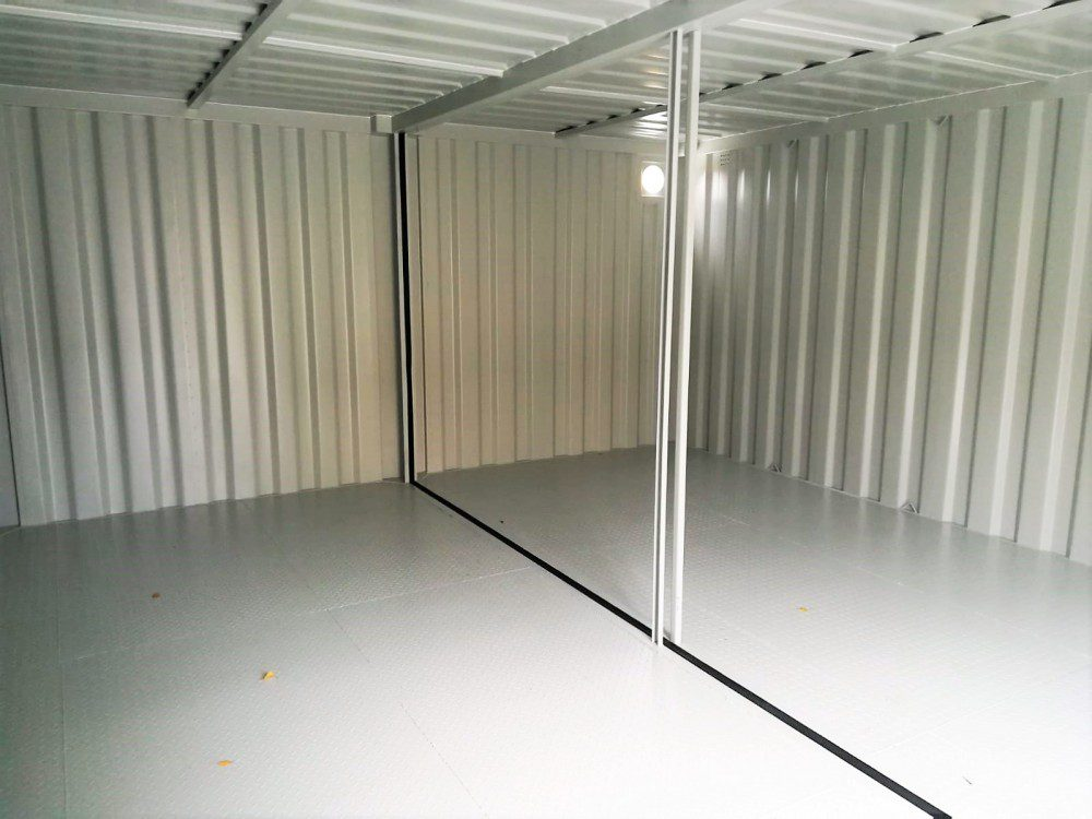 DUO-Materialcontainer-Anlage
